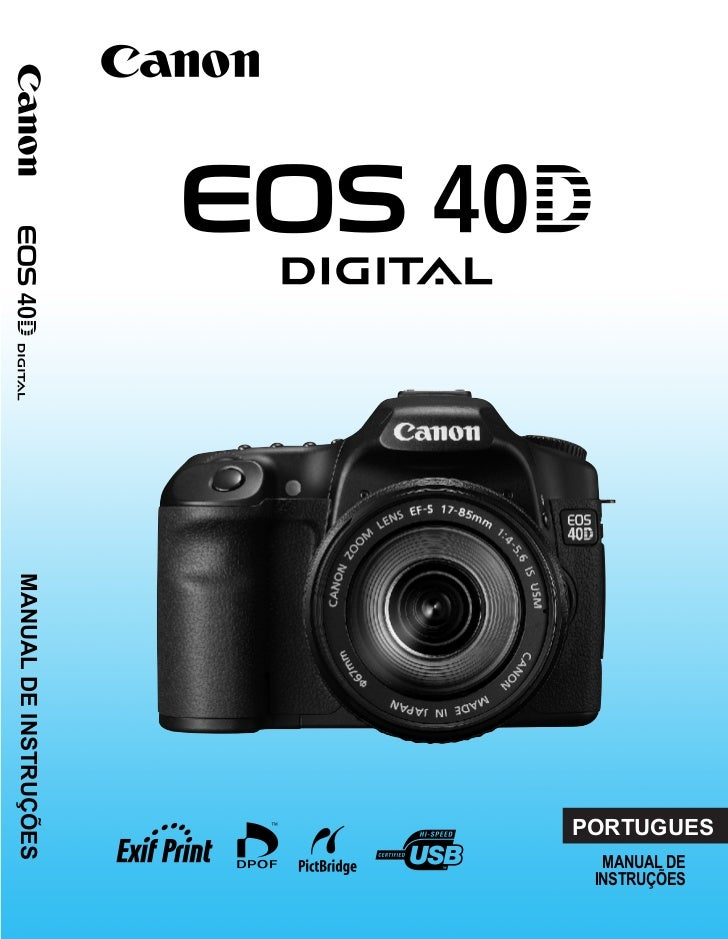 Manual Canon EOS 40D