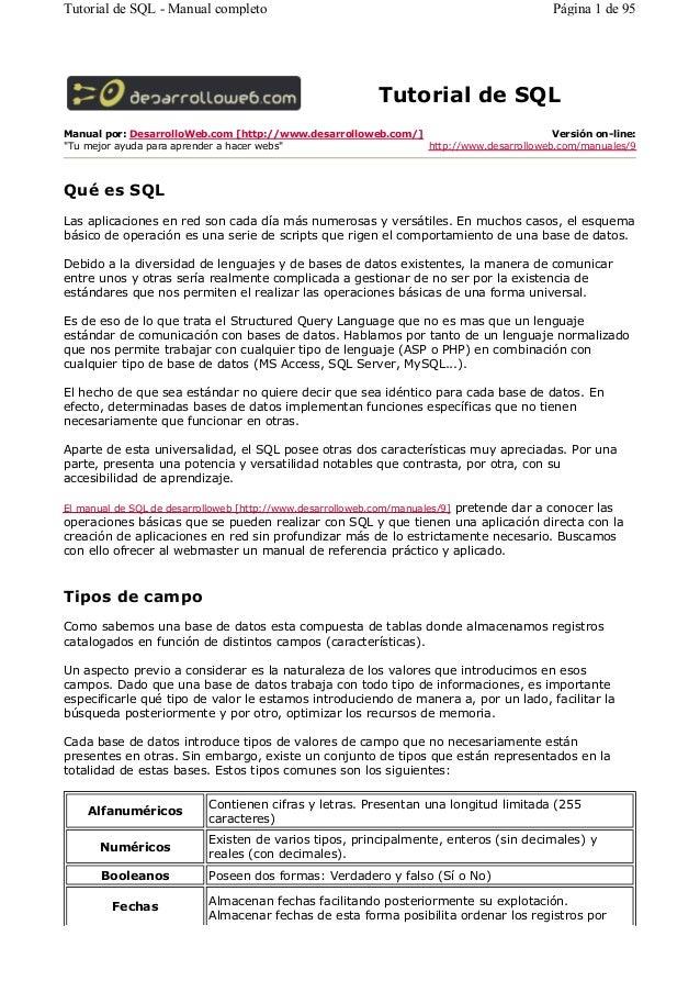 Manual completo-sql