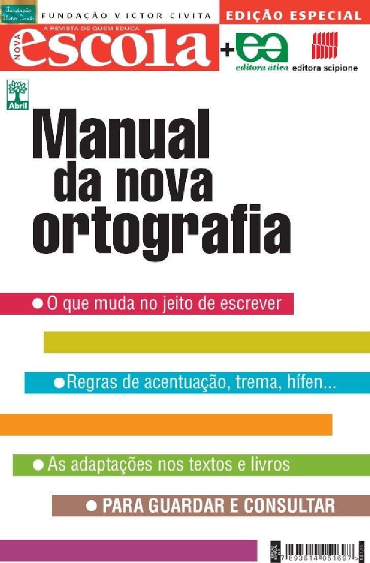 Manual da-nova-ortografia