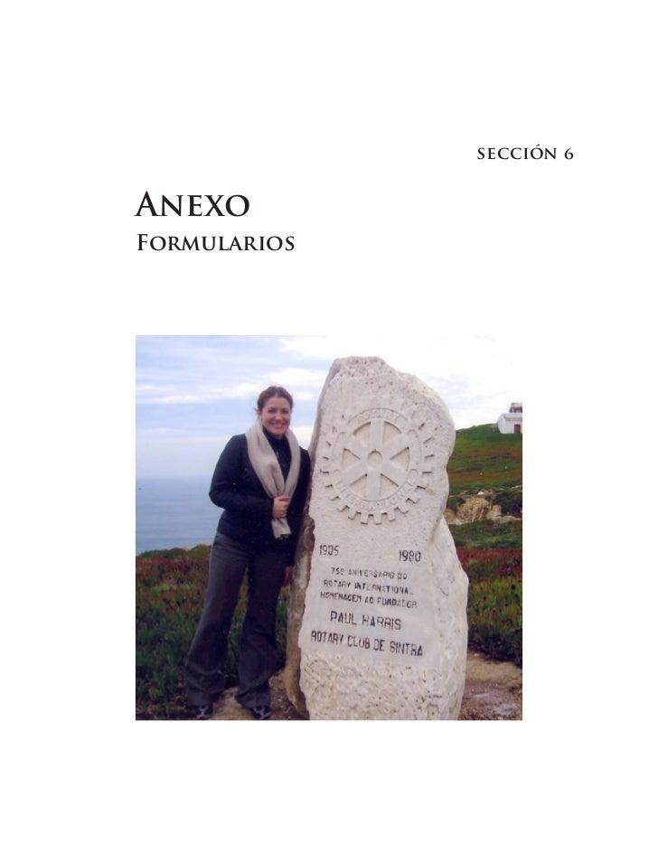 sección    AneXo ForMularios