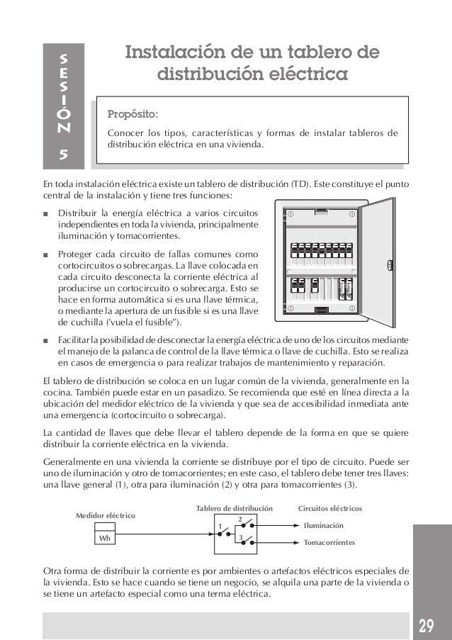 Manual de instalaciones electricas mod 3 for Instalacion electrica de una vivienda paso a paso