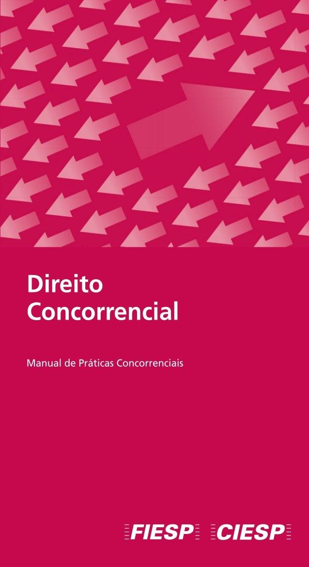 Manual de Práticas Concorrenciais - Direito Concorrencial