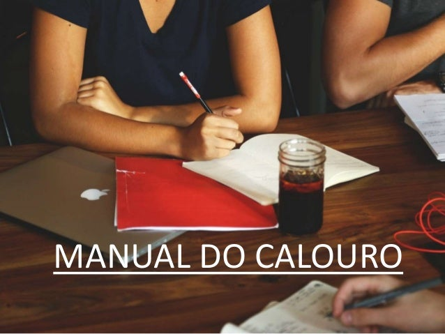 MANUAL DO CALOURO