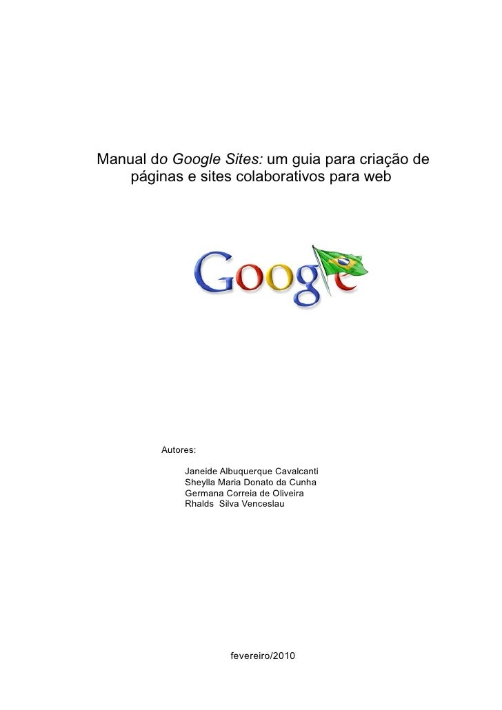 Manual google-sites-100225083926-phpapp02