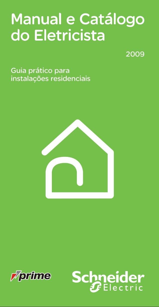Manual   guia do eletricista residencial schneider