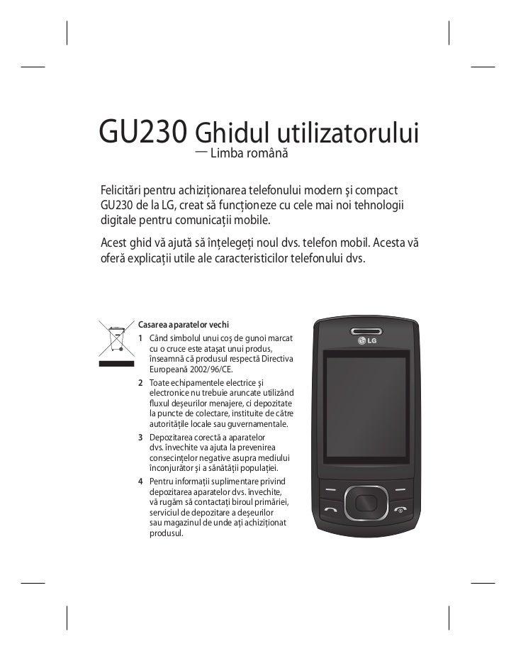Manual instructiuni-lg-gu230-brown