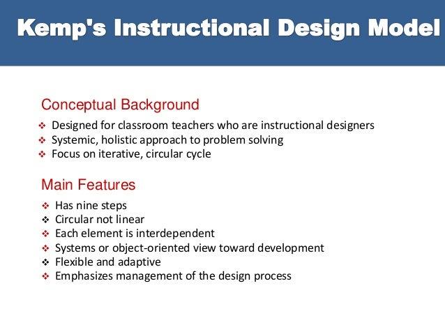 instructional design 5 essay