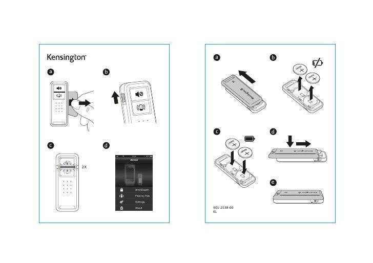 Manual Kensington Bungee Air Power Wireless