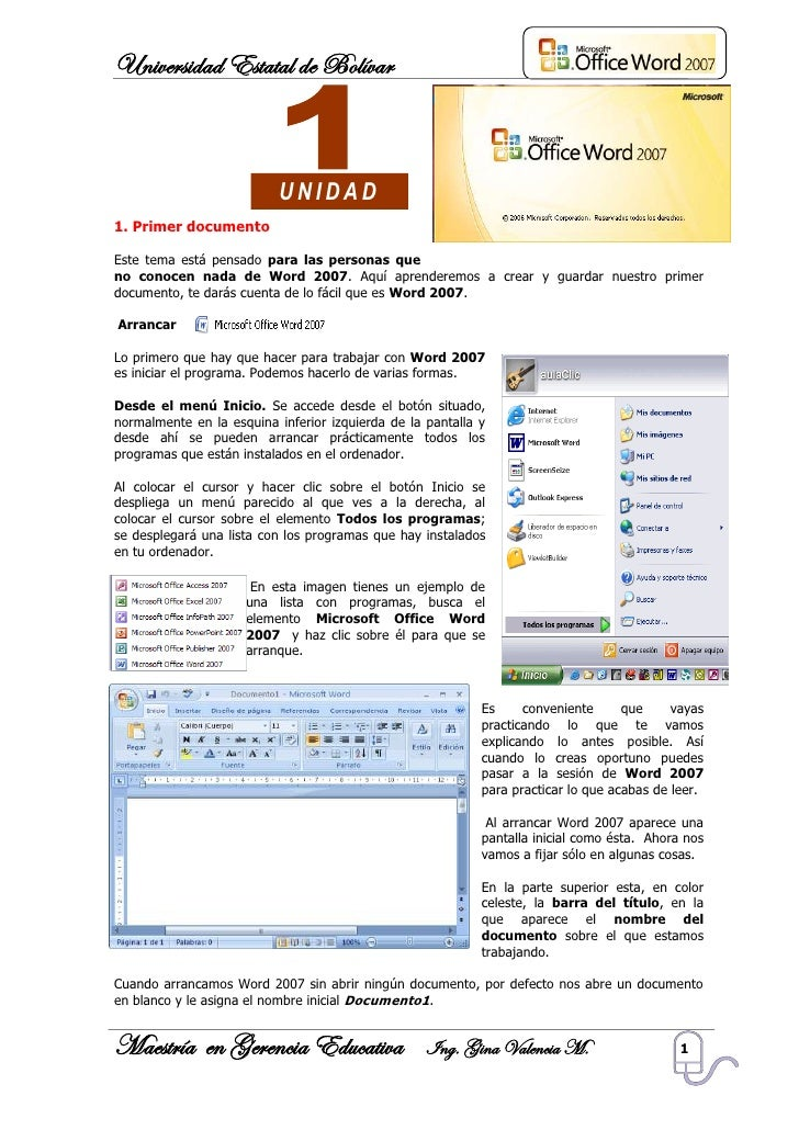 word 2007 training manual
