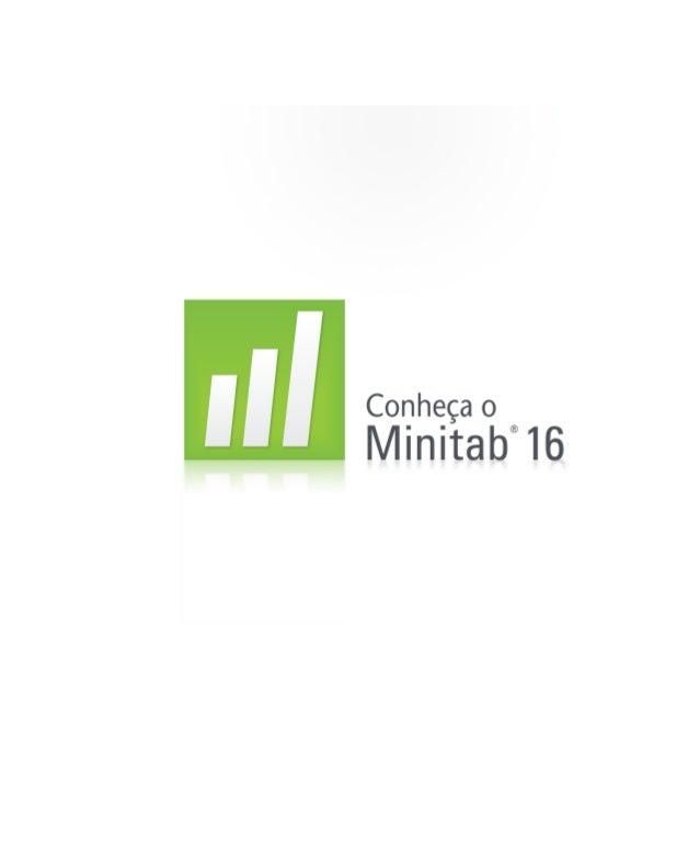 Manual Minitab pela Saldit Software