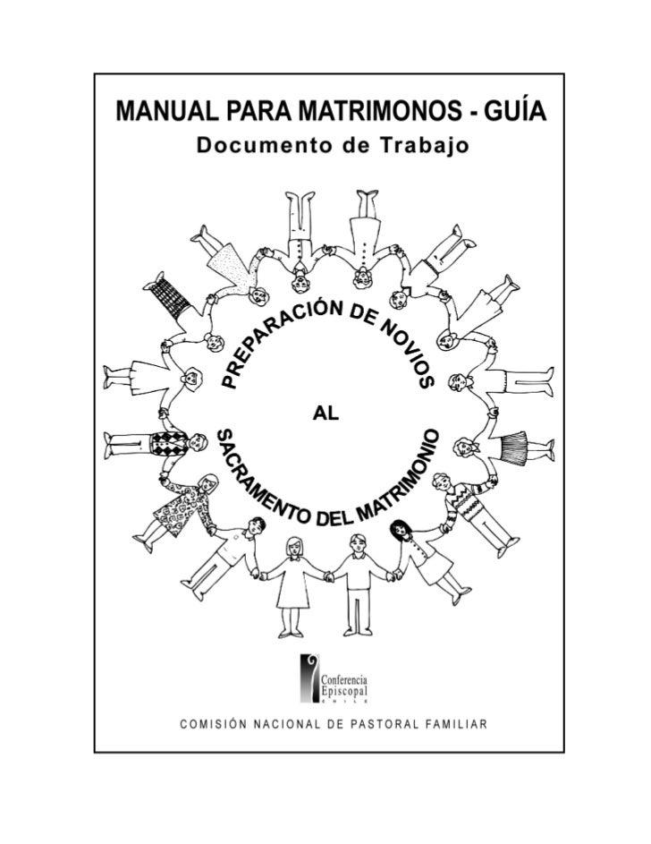Manual Para Matrimonios