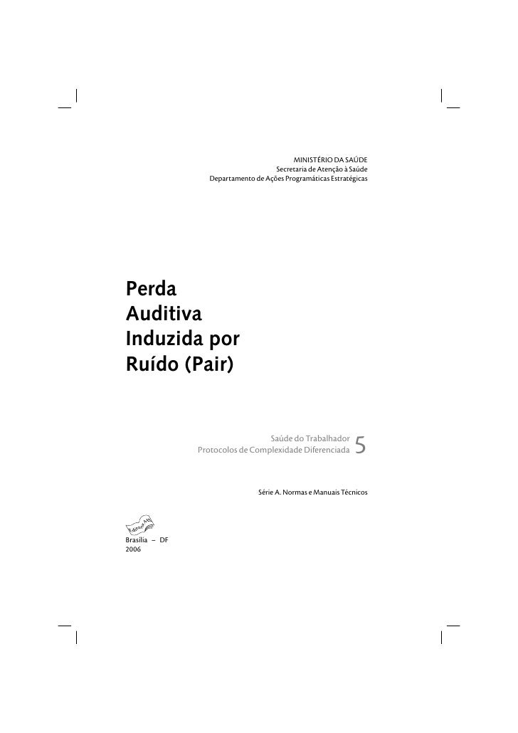 Manual   perda auditiva induzida por ruído (pair)