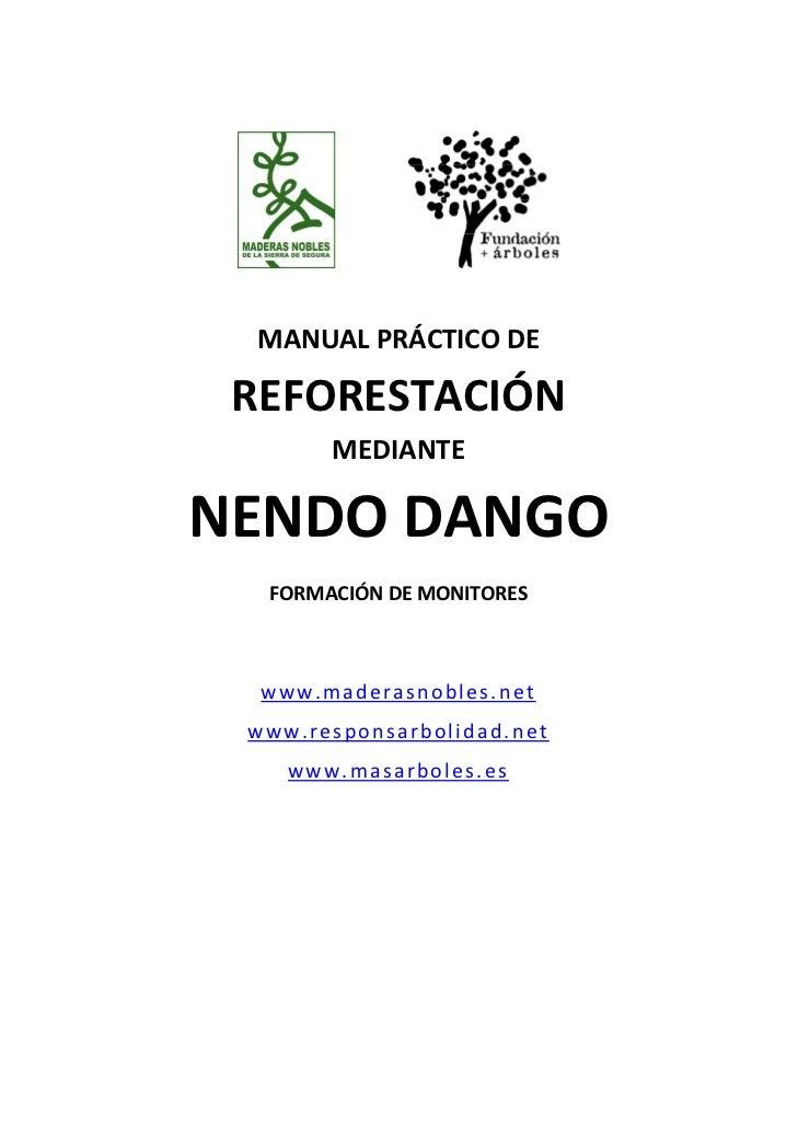 MANUALPRÁCTICODE REFORESTACIÓN       MEDIANTENENDODANGO                  ...