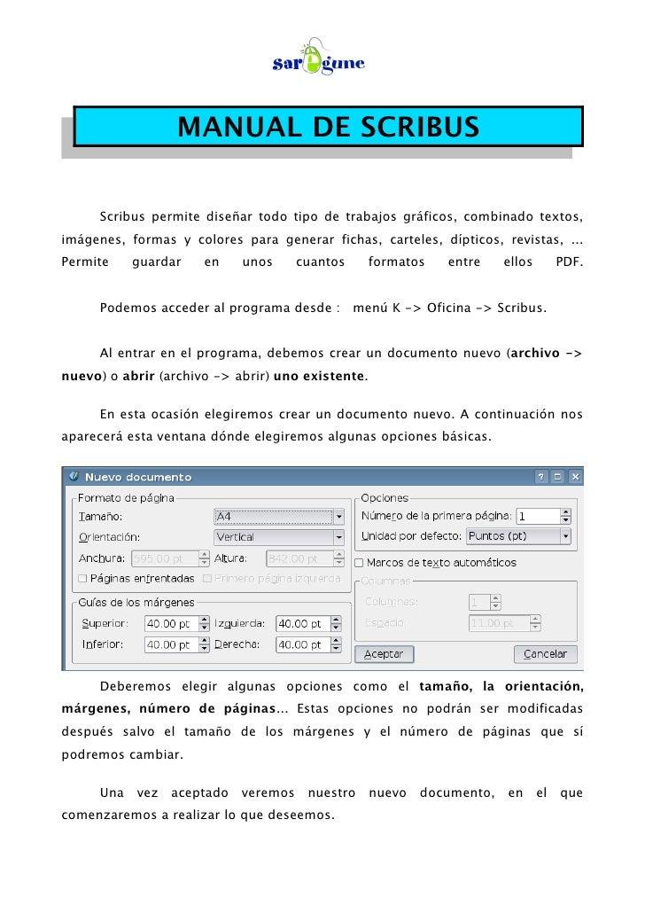Manual Scribus