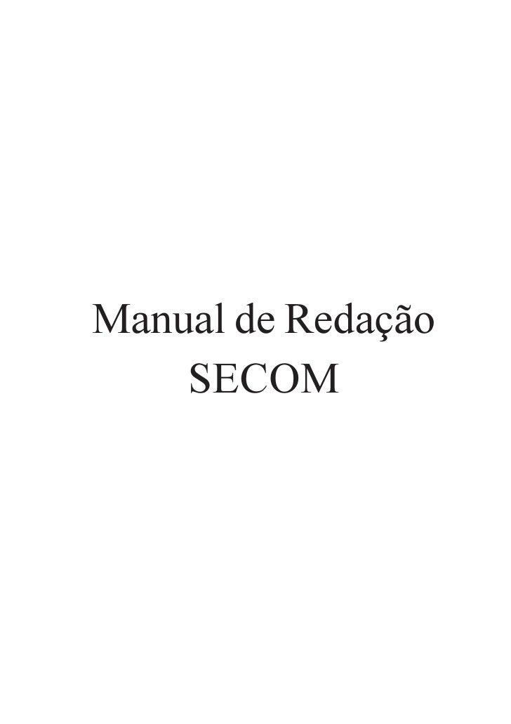 Manual Secom