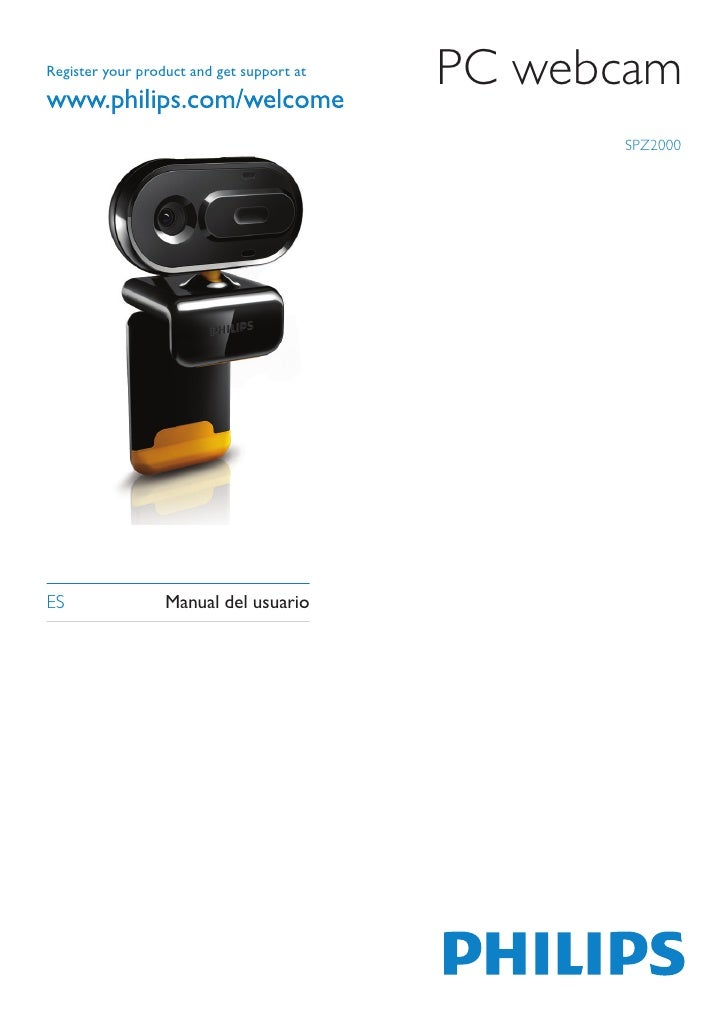 Register your product and get support at                                           PC webcam                              ...