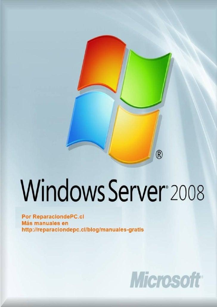 Manual windows-2008-server