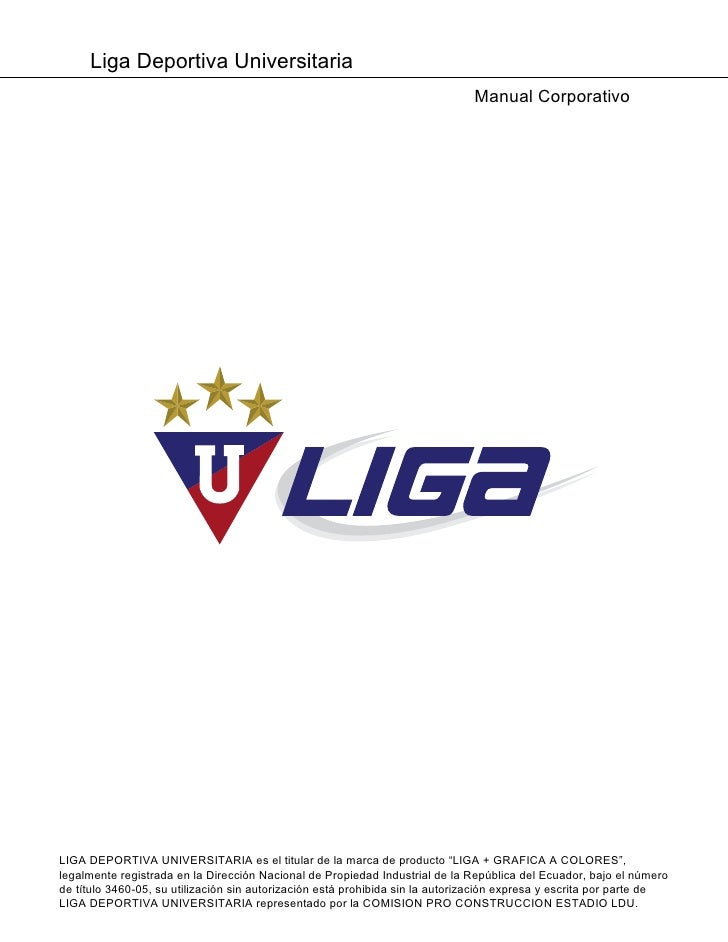 Liga Deportiva Universitaria                                                                                Manual Corpora...