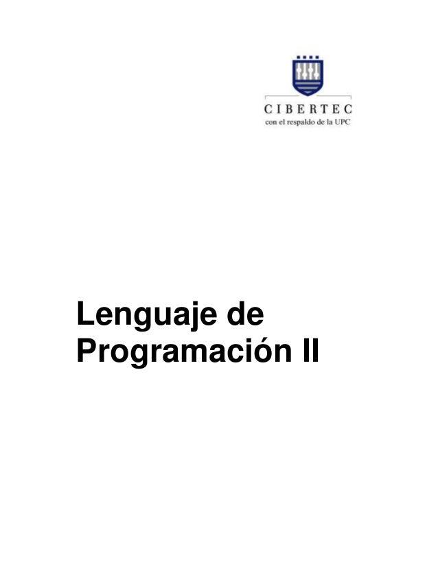 Lenguaje de Programación II