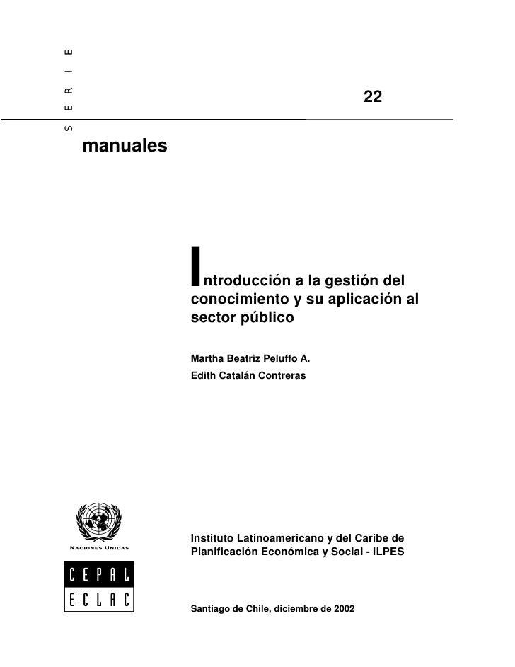 E I ER                                                          22 S          manuales                     Introducción a ...