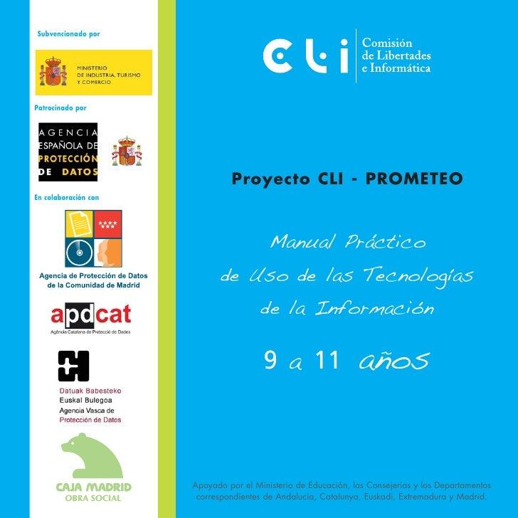 Subvencionado porPatrocinado por                               Proyecto CLI - PROMETEOEn colaboración con                 ...