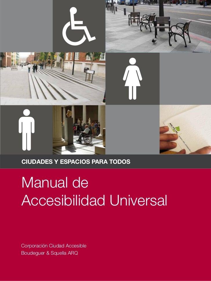 Manual de accesibilidad for Diseno de interiores un manual pdf