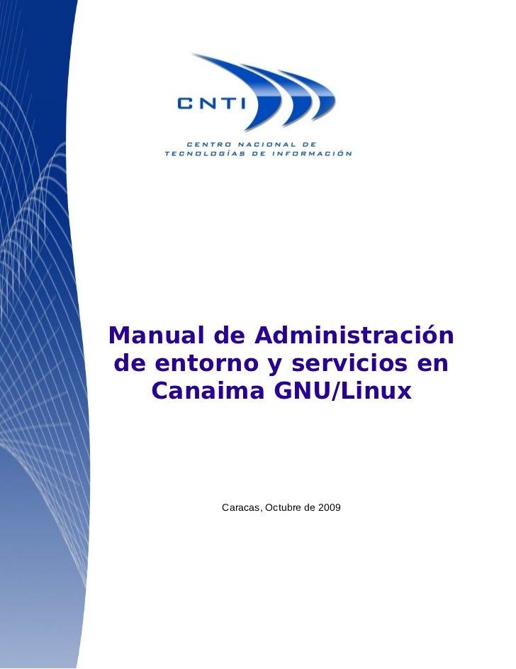 Manual administrador