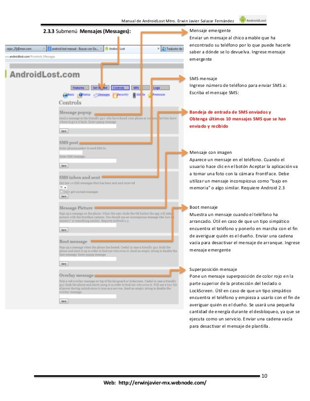 Androidlost инструкция - фото 6