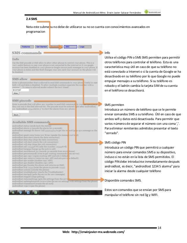 Androidlost инструкция - фото 4