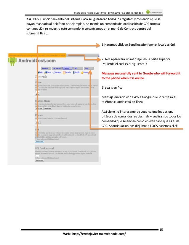 Androidlost инструкция - фото 3