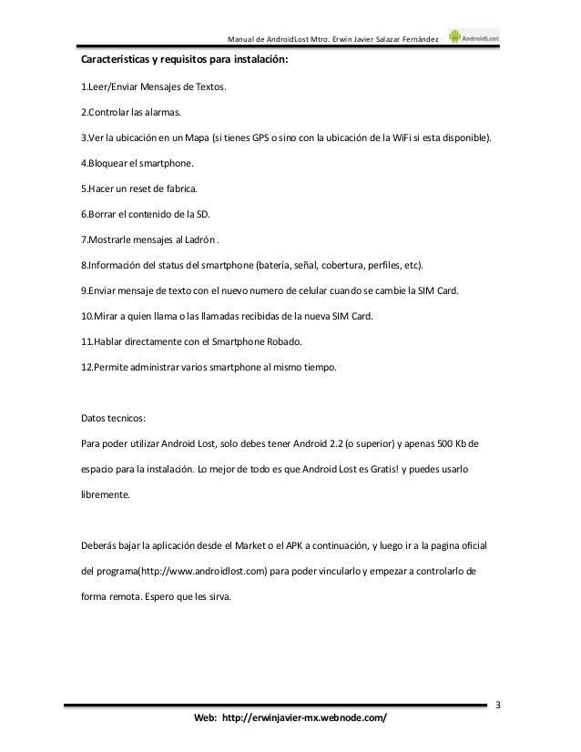 Androidlost инструкция - фото 9