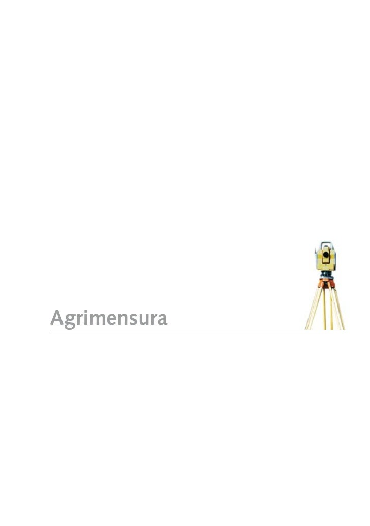 Agrimensura