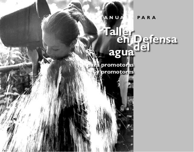 Taller en Defensa del Agua