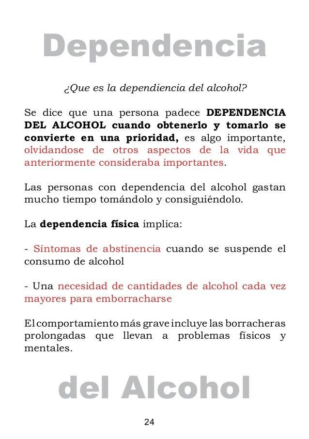 Como reconocer al ciudadano el alcoholismo crónico que sufre