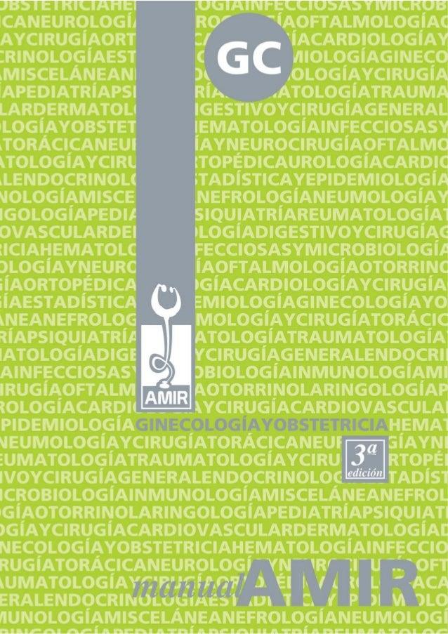 ISBN DE LA OBRAISBN-13: 978-84-611-2176-2GINECOLOGÍA Y OBSTETRICIA (3ª edición)ISBN-13: 978-84-612-6341-7DEPÓSITO LEGALM-3...