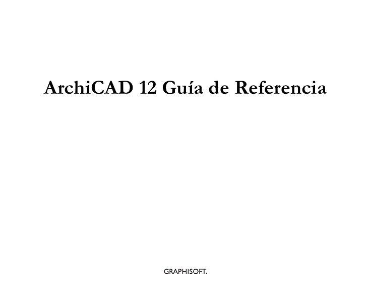 Manual archi cad 12 es
