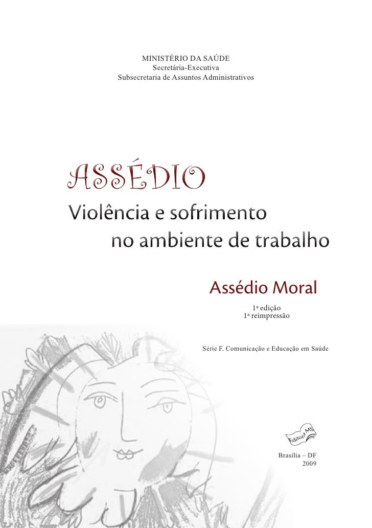 Manual assédio moral,violência e sofrimento no ambiente de trabalho