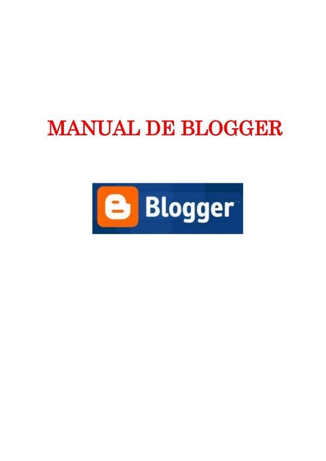 Manualblogge