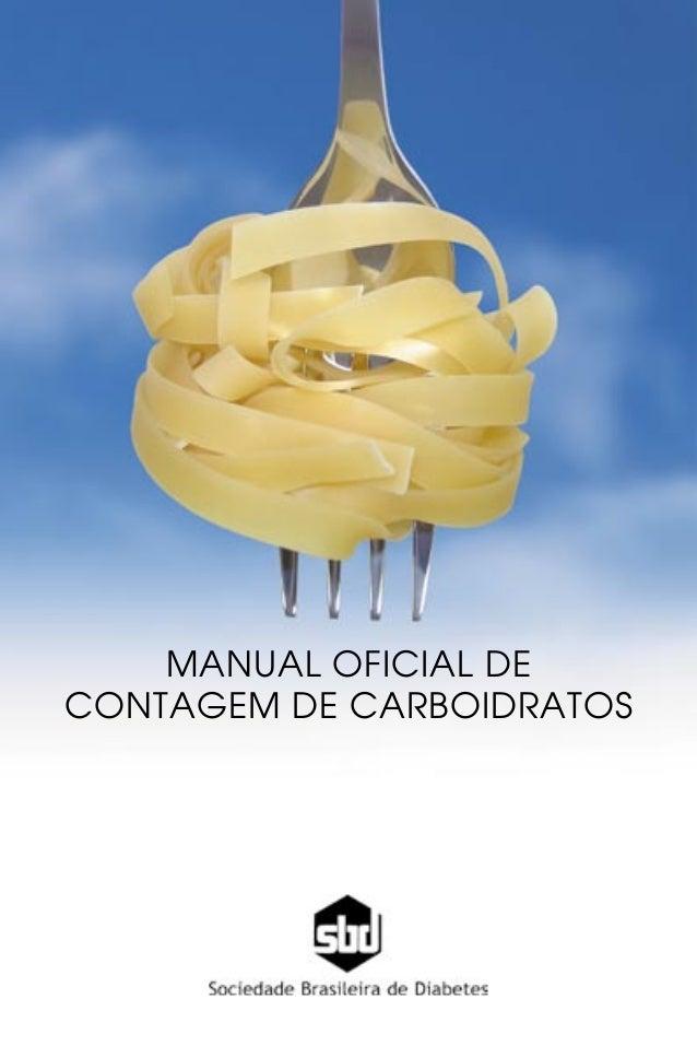 Manual brasileiro contagem de carboidratos