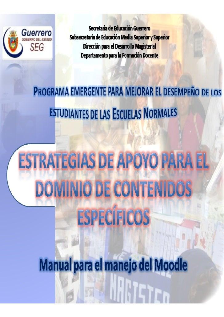 Manual Breve Para El Acceso Y Manejo Del Moodle
