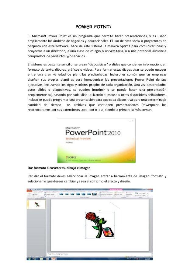 Manual básico de power point