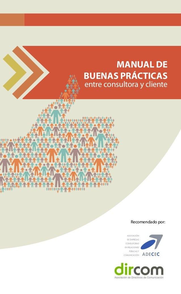 Manual buenas practicas entre consultora y cliente