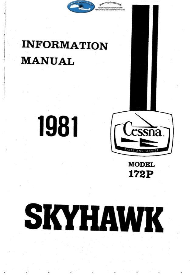 Manual Cessna 172P Skyhawk - 1981  jornaldoar.blogspot.com