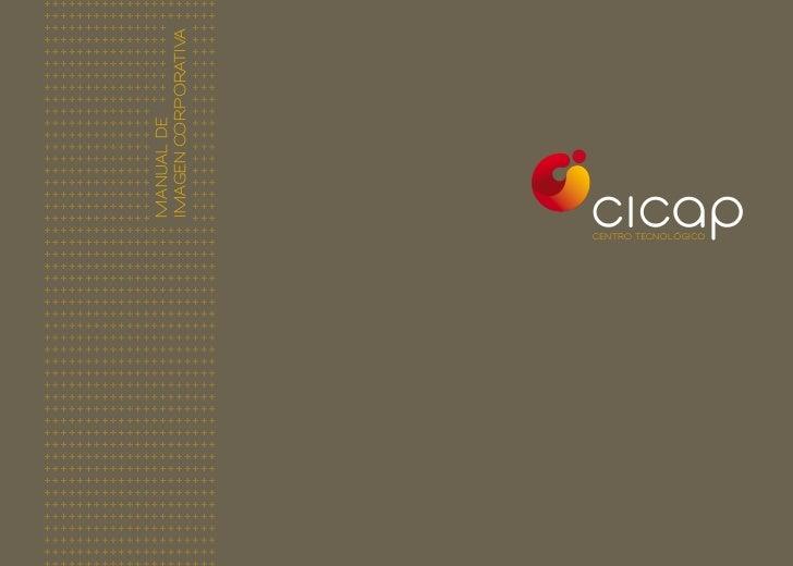 Manual de imagen corporativa de CICAP
