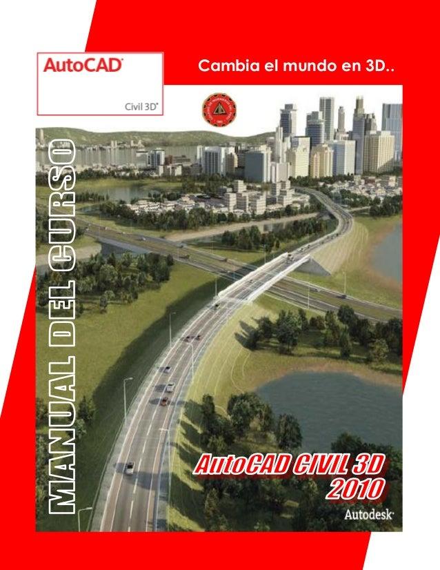 Manual civil 3 d 2010 cip   completo