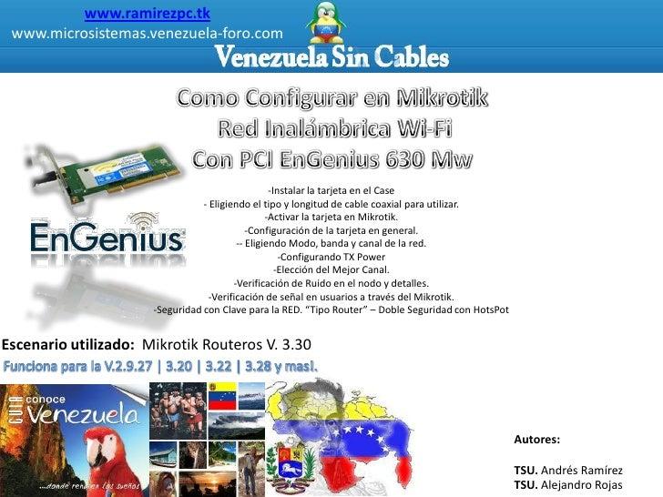 www.ramirezpc.tk  www.microsistemas.venezuela-foro.com                                                        -Instalar la...