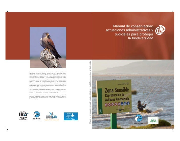 Manual de conservación:                                                                                                   ...