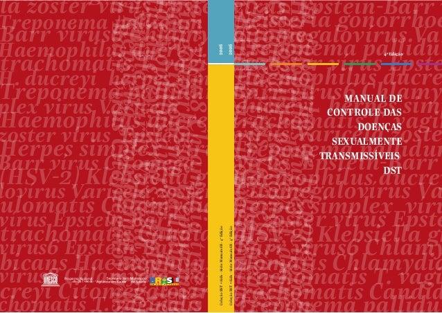 4a Edição MANUAL DE CONTROLE DAS DOENÇAS SEXUALMENTE TRANSMISSÍVEIS DST riagonorrhoeaeTreponemap HaemophilusducreyiH.ducre...
