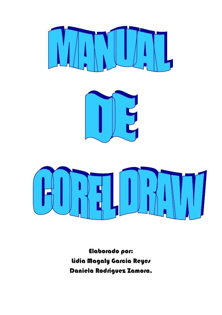 Manual Corel Draw Lidia Y Daniela