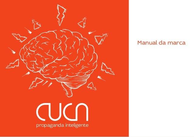Manual da marca Cuca - Propaganda inteligente